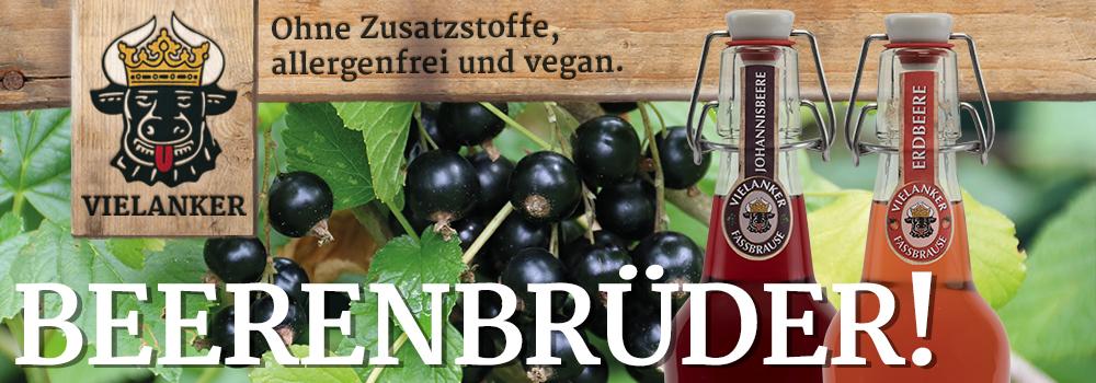 Beerenbrüder! Ohne Zusatzstoffe, allergenfrei und vegan!